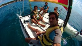 Catamaran guided Excursion