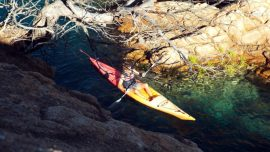 "Excursion kayak + snorkel ""Route des grottes"""
