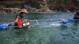 TRANSPARENT kayaking tour!