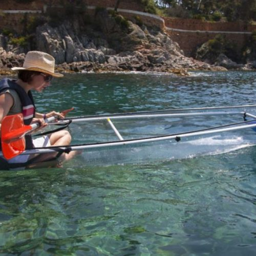 TRANSPARENT kayak tour!