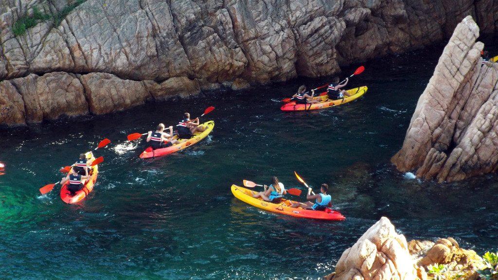 kayaking per grupos