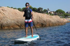 Paddle Surf private lesson